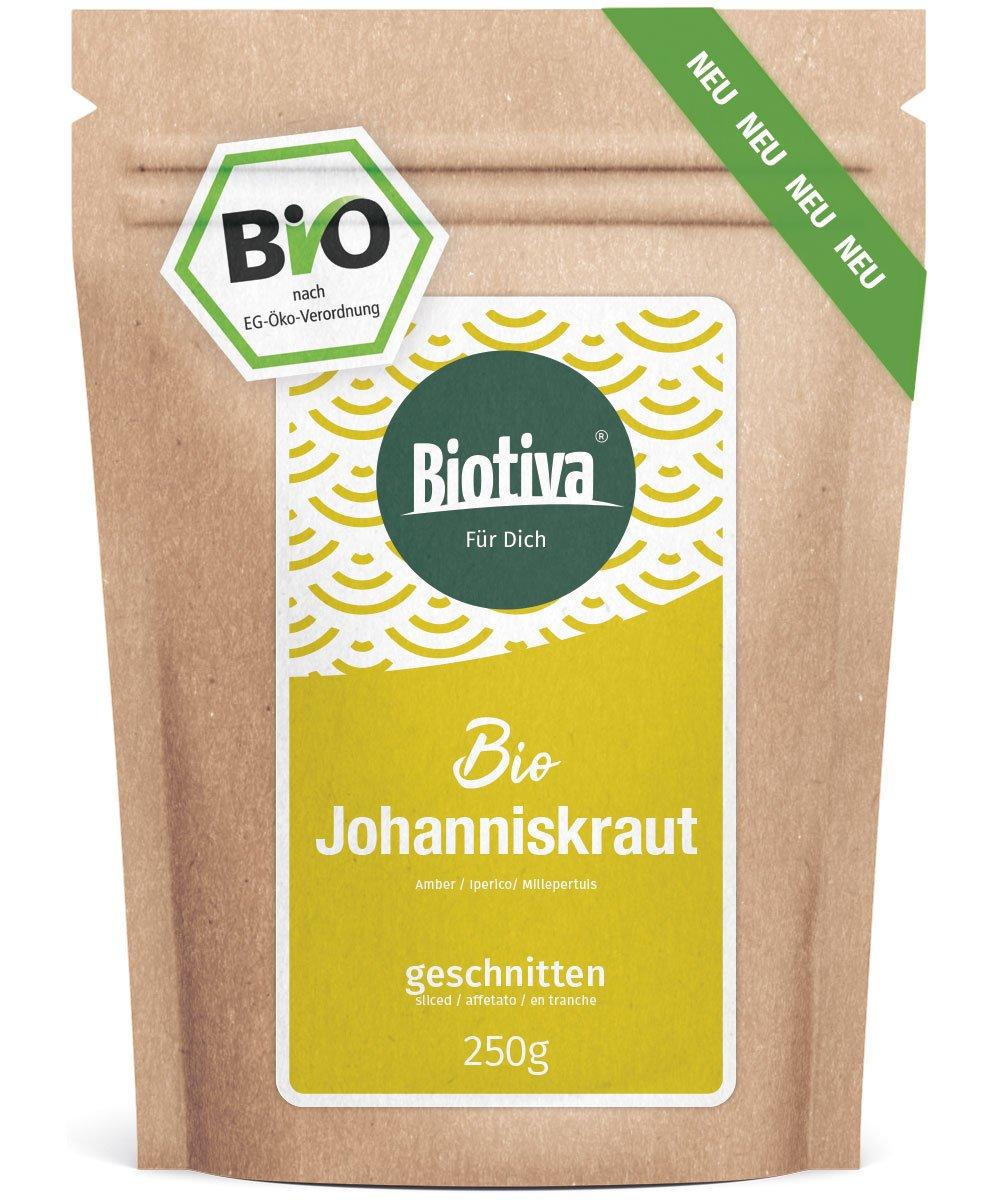 Johanniskraut-Tee-Bio-250g-Echtes-Johanniskraut-geschnitten-Hypericum-abgefllt-und-kontrolliert-in-Deutschland-DE-KO-005