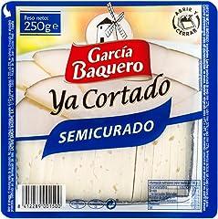 García Baquero Ya Cortado Queso Semicurado Cuña, 250g