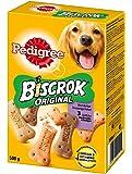 Pedigree Hundesnacks Hundeleckerli, Biscrok in 3 Geschmacksrichtungen, 6 Packungen (6 x 500 g)