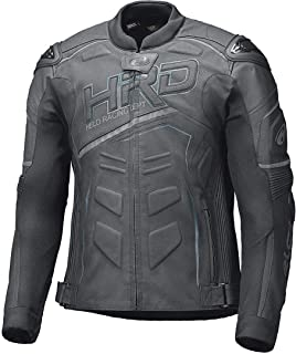 5XL MDM B/üffel Biker Lederweste in matt schwarz