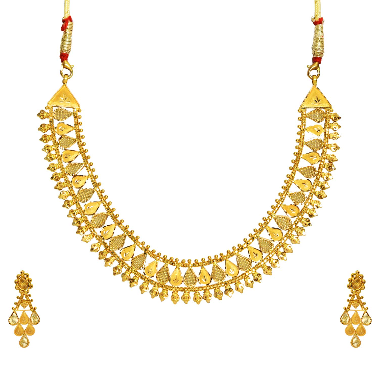Benud Behari Dutt 22KT Gold Jewellery Set for Women