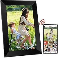 Digitaler Bilderrahmen WLAN Elektronischer Bilderrahmen - 10 Zoll Digitaler Fotorahmen mit WiFi, Hochauflösendem HD…