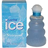 Samba Ice By Perfumers Workshop For Men. Eau De Toilette Spray 3.3 Ounces