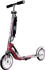 HUDORA Big Wheel Scooter 205 - Das Original, Tret-Roller klappbar - City-Scooter - 14764, magenta/silber