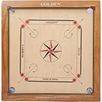 KD Golden Carrom Board Antique Indoor Board Game Approved by Carrom Federation of India & Maharashtra Carrom Association…