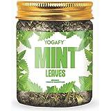 YOGAFY - Organic Mint Supernatural Herbal Tea I Caffeine Free Tea for Digestion and Bad Breath |100g - 100 Cups | 50g…