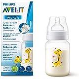 Philips SCF821/12 Avent Antikollik Babyflaska, 260 ml, Genomskinlig