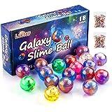 Luclay Galaxy Slime Balls per Bambini, Stucco a Base di Uova lanuginose ed Elastiche - Non appiccicoso, Sollievo da Stress e