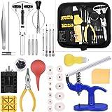 ETEPON Kit di Riparazione Orologi Professionale, Strumento di Riparazione Orologio per Cambio Fascia di Orologio e Sostituzio