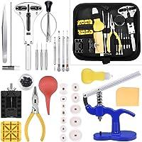 ETEPON Kit di Riparazione Orologi Professionale, Strumento di Riparazione Orologio per Cambio Fascia di Orologio e…