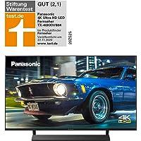 Panasonic TX-40HXW804 UHD 4K Fernseher (LED TV 40 Zoll / 100 cm, HDR, Quattro Tuner, Smart TV, Alexa, USB Recording…
