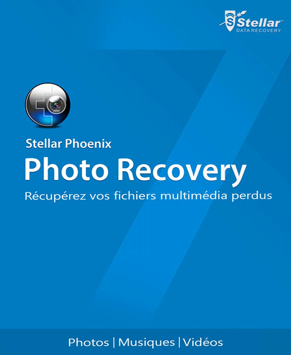 Stellar Phoenix Photo Recovery 7 [Téléchargement]