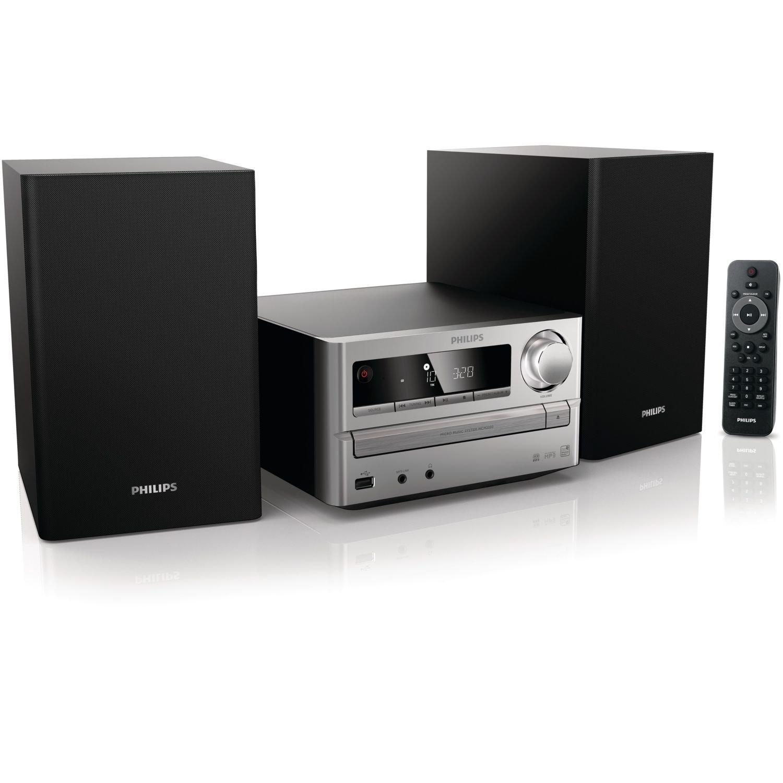 philips mcm2000 12 micro chaine lecteur cd mp3 wma avec. Black Bedroom Furniture Sets. Home Design Ideas