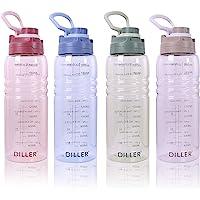 2L Acqua con Paglia litro 2000ml Piccolo Grande per l'acqua, a Prova di perdite, Senza BPA, Unisex, Leak Proof BPA Free…