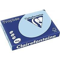 Clairefontaine Trophée 1256 Ramette de 500 feuilles papier 80 g Format A3 Bleu