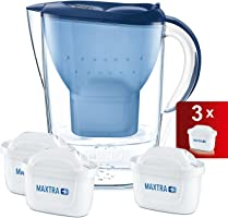 BRITA Marella Cool Water Filter Jug and Cartridges Starter Pack