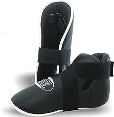 """BAY® """"SUPERKICK"""" Fußschutz Fußschützer Kickboxen Kick-Boxen Safety XS S M L XL XXL"""