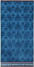 Spaces FIFA 450 GSM Cotton Bath Towel - Blue