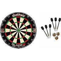 Winmau Blade 5 Dartboard + McDart Steeldarts