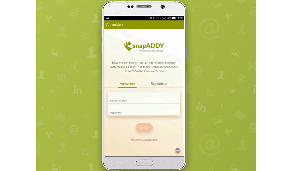 Snapaddy Visitenkartenscanner Amazon De Apps Für Android