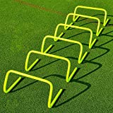 OSG Speed/Agility Training Hurdles [pack Of 6] Size 12 Inch