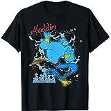Disney Aladdin Genie Sparkle Carpet Ride T-Shirt