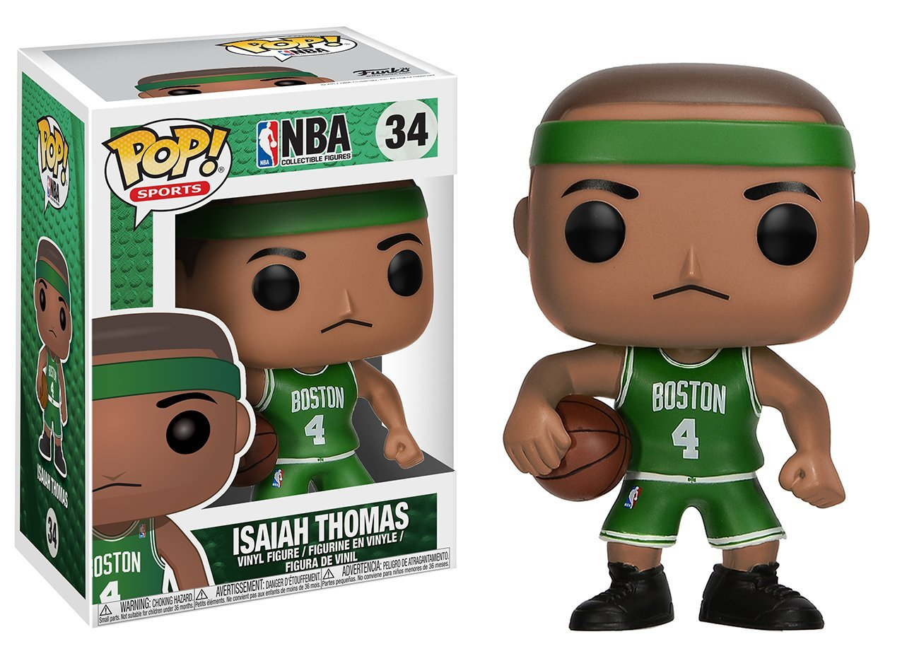 Funko Pop Isaiah Thomas Boston Celtics (NBA 34) Funko Pop NBA