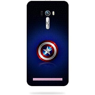 mbamarsal Polycarbonate Printed Back Cover for Asus Zenfone Selfie ZD551KL  Multicolour
