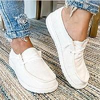 GUANJIAN Mme Homme Chaussures en Toile Mocassins Bateau De Sport Espadrilles Chaussures à Fond Mou Chaussures D'éTé en…