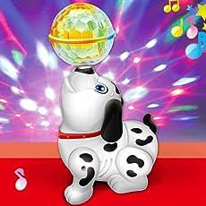 SAISAN Cute Funny Dancing Dog with Music Flashing Lights (Cute Dancing Dog)