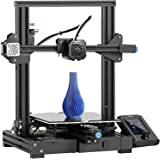 Creality Ender-3 V2 2021 | Upgraded 3D Printer with Silent Motherboard Meanwell Power Supply | Carborundum Glass Platform | R