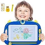 Peradix Pizarra Magnética Infantil, Colorido Borrable Tablero de Dibujo Magnético de Garabatos, Pizarras Magneticas Infantile