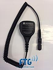 MOTOROLA Lautsprechermikrofon LSM PMMN4076A mit 3,5mm Zubehörbuchse für DP2400e DP2600e DP3441e MTP3000er-Serie