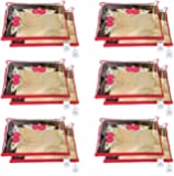 Kuber Industries Non Woven Single Packing Saree Cover 12 pcs Set (Red) ,CTKNEW103