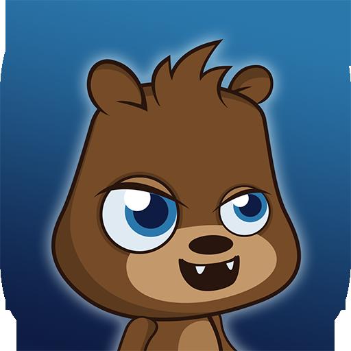 Der einzigartige Bieber Dieb - Bieber Jump - awesome Beaver Thief - Herbst-plattform