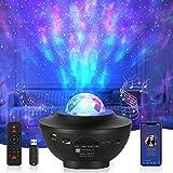 Opard LED Sternenlicht Projektor Sternenhimmel Rotierende Wasserwellen Projektionslampe, Kinder Nachtlicht Baby Sterne Lampe