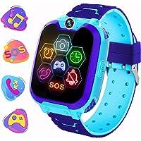 Smartwatch Telefono per bambini, Musica di Gioco Orologio intelligente con Conversazione Bidirezionale Fotocamera…