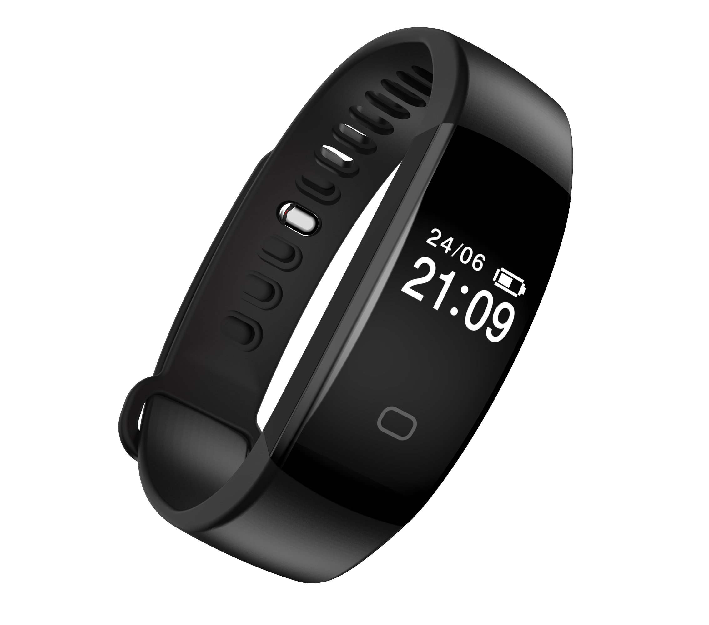 71hE6L8QhBL - Fitness Tracker Heart Rate Monitor Pedometer Smart Bracelet Bluetooth 4.0 Smart Fitness Band and Activity Tracker Smartwatch