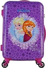 Gamme Polycarbonate Frozen Anna and Elsa 20-inch Suitcase(Purple)