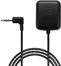 AUKEY GPS Antenne für Dash Cam mit 4-poligem 3,5mm GPS Port oder AUKEY Autokamera DR01, DR02, DR02 J und DR02 D