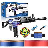 Bonbell Pistolet Enfant Électrique, Jouet Garcon Nerf, Fusil Enfant avec 100 Flechettes en Mousse Cible et Ceinture de…