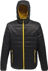 Regatta Womens Arcadia Warmloft Down Touch Womens Jacket Plain Hooded Long Sleeve Jacket