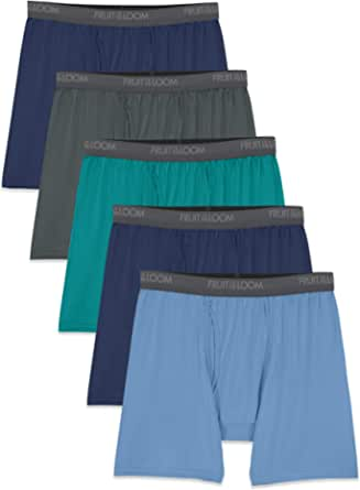 Fruit of the Loom Men's Micro-Stretch Boxer Briefs
