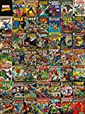 Pyramid Marvel Comics Covers, 60 x 80 cm, Leinwanddruck