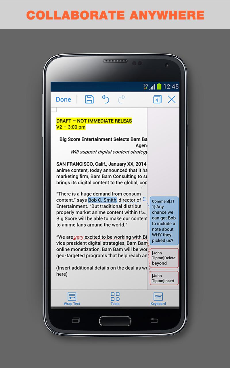 WPS Office + PDF: Amazon.de: Apps für Android