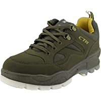 ADD GEAR CTR Trekking Shoes Anti-Skid Hiking Shoes Slip Resistant Mountain Boots in Action Trekking Colour-Olive + Free…
