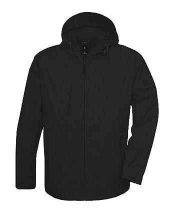 B&C Street Mens Lightweight Rain Jacket Waterproof Windproof ...