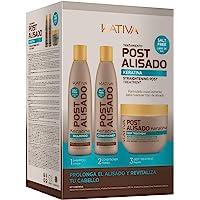 Kativa Kativa Messaggio Relaxer Kit X 3 Pack (Shampoo + Balsamo X 250 Ml + 250 Trattamento Profo