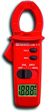 Benning CM 1-1 Digital-Multimeter und Klammer-Amperemeter, 044061