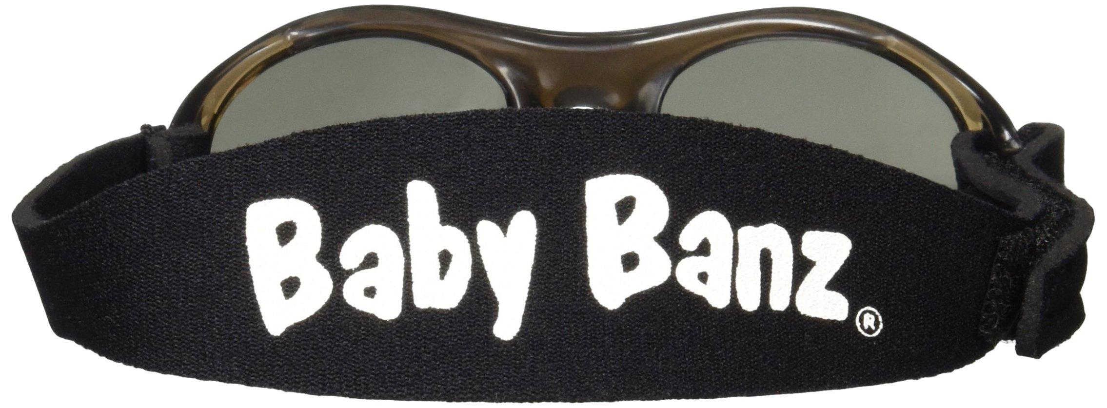 Baby Banz - Gafas de sol Ovaladas para niños, Black, 0-2 anos 4